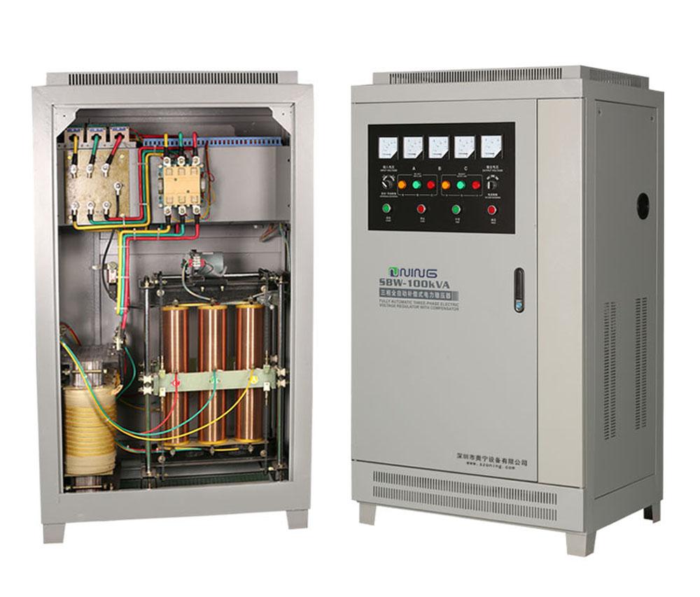 SBW/DBW-三相大功率高精度全自動補償式交流穩壓器